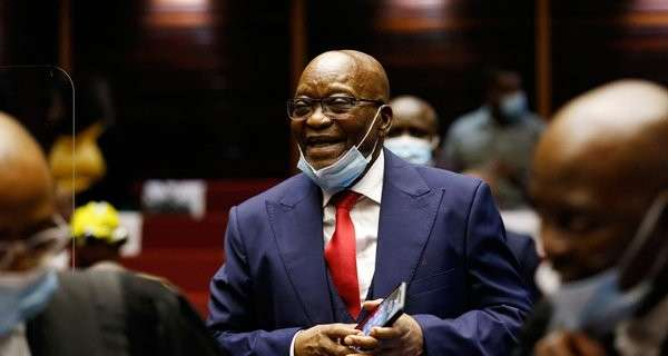 South Africa's Zuma gets 15-month jail term for contempt of court
